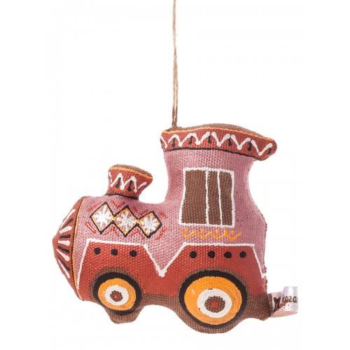 Игрушка ручной работы детям Паравозик