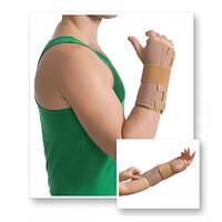 Бандаж на лучезапястный сустав с ребрами жесткости Med textile 8551 люкс