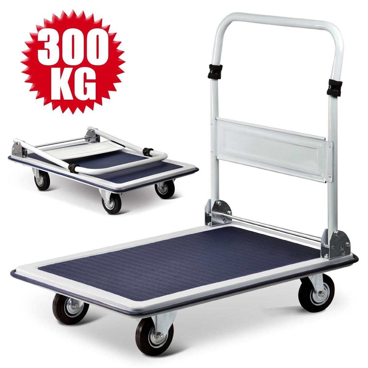 Тележка платформенная складная до 300 кг (920 х 620 мм)