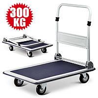 Тележка платформенная складная до 300 кг (920 х 620 мм) (візок вантажний платформний)