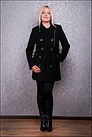 Кашемировое женское пальто большого размера со скидкой Д 35