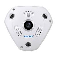 Панорамная IP-камера 1,3 Мп Escam Shark QP180 камера с ИК-подсветкой