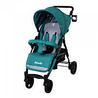 Детская прогулочная коляска CARRELLO Strada CRL-7305 Green (резиновые колеса)