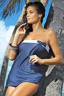 Платье-парео для пляжного отдыха Marko M 241 MIA (indigo)