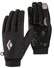 Перчатки BLACK DIAMOND SOFT Mont Blanc Liners Black