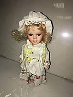 Кукла фарфоровая прованс высота 20 см