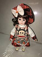 Кукла фарфоровая новинка высота 20см