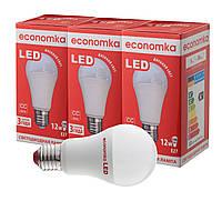 Светодиодные лампы Economka LED 12W СУПЕРПАК 3шт 4200К