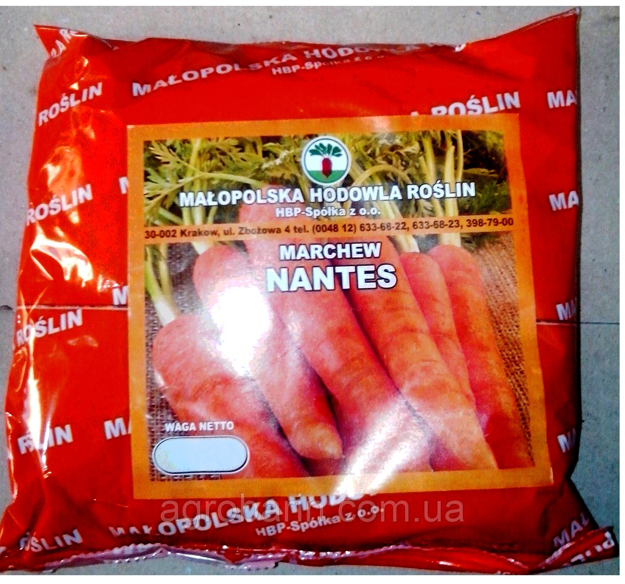 """Морква """"Нантська"""" 0,5 кг."""