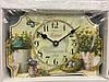 Часы в стиле прованс деревянные times