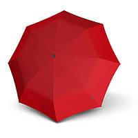 Зонт женский Knirps Germany, купол 98 см, длина 28 см, красный
