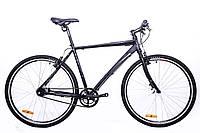 """Велосипед CYCLONE DC–NEXUS 8-SPD 28"""", рама 21"""", черный мат."""