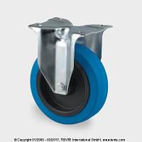 Колеса для промышленного оборудования, серая резина