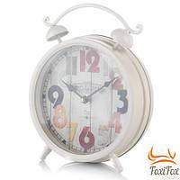 Настільні металеві годинник Прованс