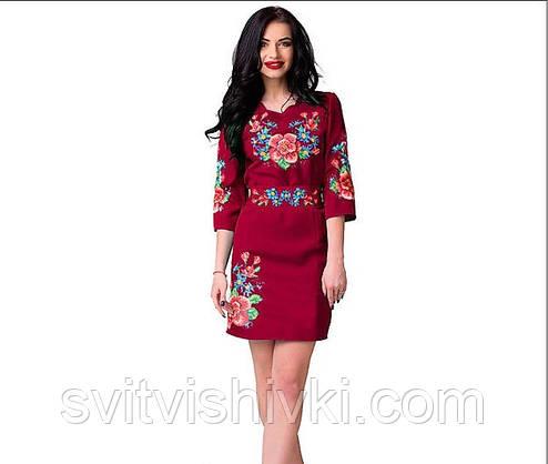 Вишите жіноче плаття в сучасному стилі, фото 2