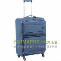 Дорожный чемодан из нейлона на 4-х колесах (средний) Roncato Venice SL Deluxe 5172 голубого цвета