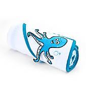 Полотенце с капюшоном Sensillo с 3D вышивкой 76х76 - white