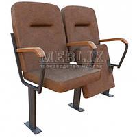 Театральное кресло для зала СТЮАРД с креплением к полу