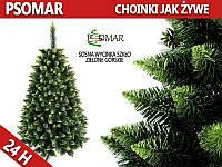 Елка-сосна искуственная стеклисто-зеленая горная 180 см