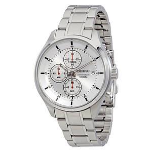 Часы мужские Seiko Silver Dial Chronograph SKS535