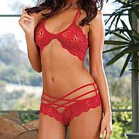 Сексуальный красный и черный комплект  от 46 до 48