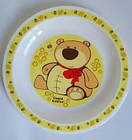 Детская тарелочка Canpol babies с медвежонком, детская посуда