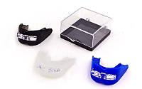 Капа боксерская двухсторонняя (двухчелюстная) в футляре ELASТ BO-0020 (055) (термопластик,цвета MIX)