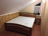 Двуспальная кровать Осло с тумбочкой