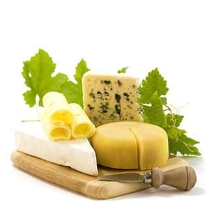Европейские сыры и молочные продукты