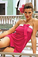 Платье-парео для пляжного отдыха Marko M 241 MIA (fresia)