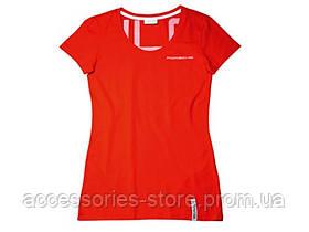 Женская футболка Porsche Women's T-shirt – Racing Collection, Red