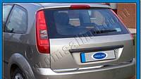Накладка на кромку багажника Ford Fiesta 02-09