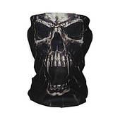 """Бафф-маска с рисунком черепа - """"Призрак"""""""