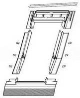 Гидроизоляционный оклад Roto для профилированных покрытий ZIE 114/118