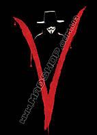 Картина 40х60 см V значит Вендетта Знак V