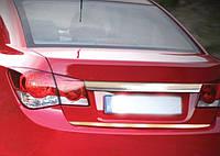 Накладка на кромку багажника Chevrolet Cruze седан