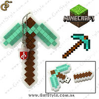 """Флешка Алмазная кирка из MineCraft - """"Diamond Pick"""" - 16 Gb!"""