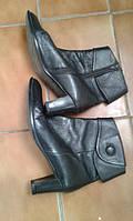 Полусапожки кожаные итальянские 41 размер