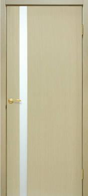 Двери Премьера 1 ОМиС шпон натуральный стекло