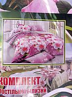 Яркий качественный постельный евро комплект