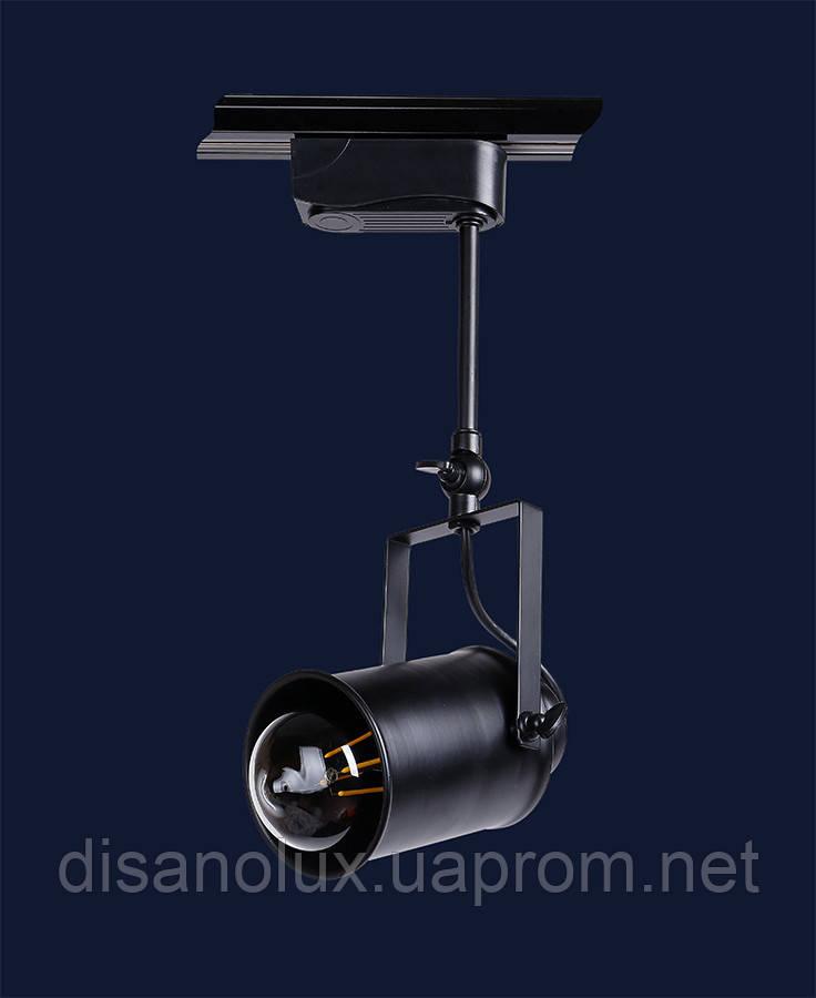 Светильник LOFT 7521208B-1 BK (трек) E27