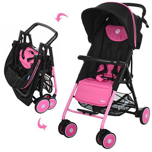 Коляска прогулочная коляска PILOT M 3294-8, розовая
