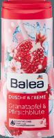 Крем-гель для душа Balea Dusche&Creme Granatapfel&Pfirsichblüte 300 ml
