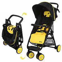 Коляска прогулочная коляска MOTION M 3295-6, желто-черная
