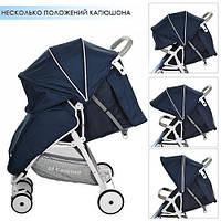 Коляска прогулочная коляска MOTION M 3295-4, синяя