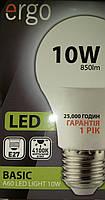 LED лампа Ergo A60 Basic10W E27 4100K 220V