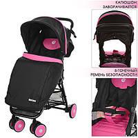Коляска прогулочная коляска MOTION M 3295-8,розовая