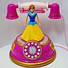 Телефон детский с куклой свет музыка