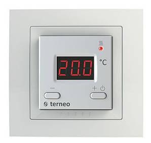 Терморегулятор для инфракрасных панелей, конвекторов и тёплого пола электронный Terneo vt unik