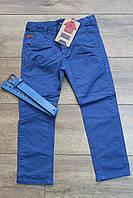 Катоновые брюки для мальчиков 110  рост